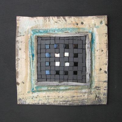 petit carré, 40x40 cm, PIERRE DE LUNE 2015