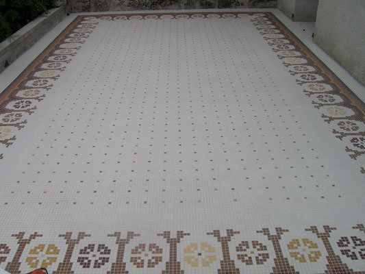le tapis fini, vue2
