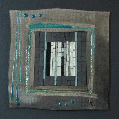 petit carré, 40x40 cm, AURORE 2014