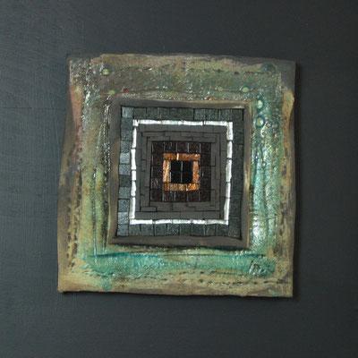 petit carré, 40x40 cm, AUBE 2015