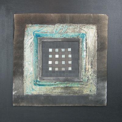 gd carré, 50x50 cm,PIERRE DE LUNE 2014 (VENDU)