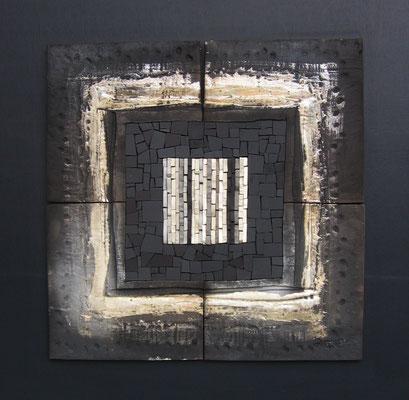 très gd carré, 65x65 cm, ARCTIQUE 2015