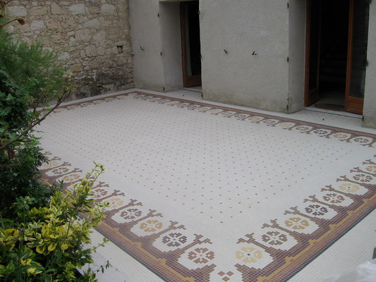 le tapis fini, vue1