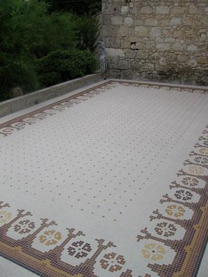 le tapis fini, vue3, et voila, mal partout mais ça valait le déplacement, ce tapis me plais toujours autant.