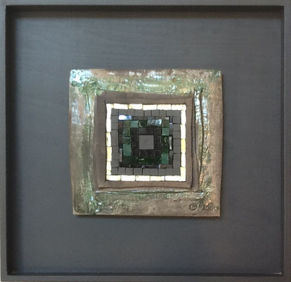 petit carré, 40x40 cm, vert 2015