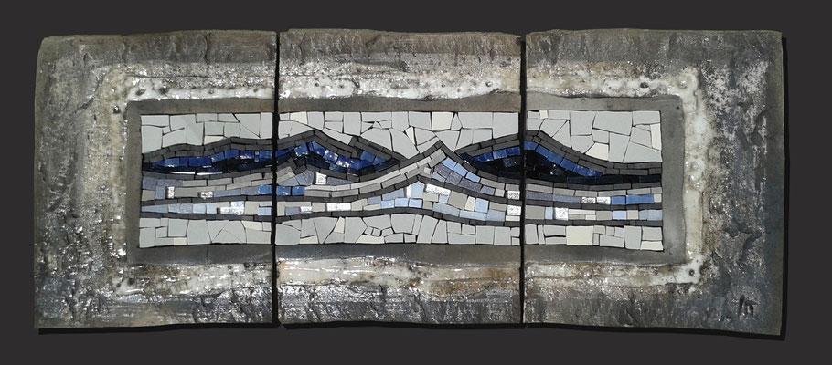 horizontal, 77x32 cm, GLACIER 2015 (VENDU)