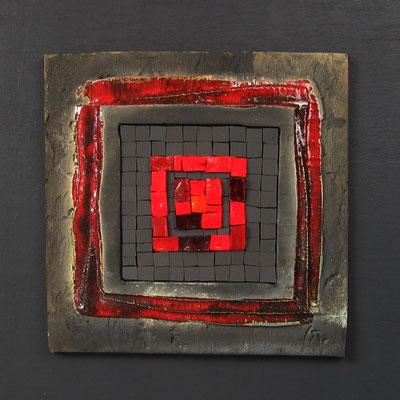 petit carré, 40x40 cm, MAGMA 2015