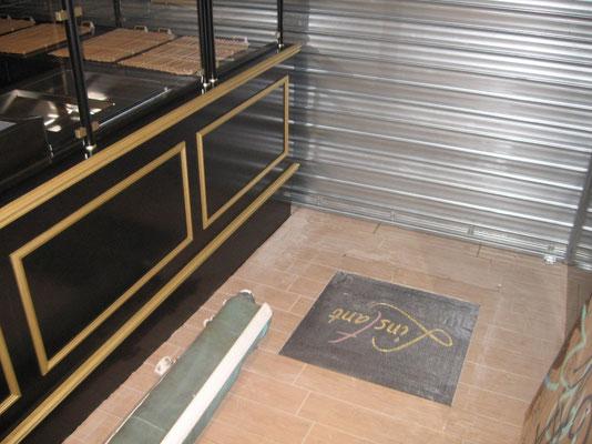 la mosaïque au sol