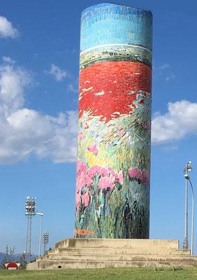 Jeanne duu 47: Voici une mosaïque que j'adore, en Espagne, à Figueras