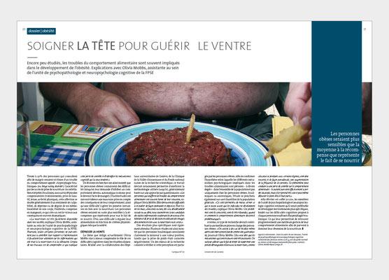 UNIVERSITÉ DE GENÈVE | MAGAZINE CAMPUS | CONCEPTION ET RÉALISATION