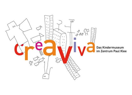 CREAVIVA | CENTRE PAUL KLEE | INDENTITÉ VISUELLE | LOGO | EN COLLABORATION AVEC CLAIRE GOODYEAR