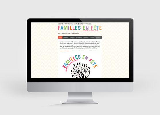 FAMILLE EN FETE | SITE INTERNET | CONCEPTION ET RÉALISATION