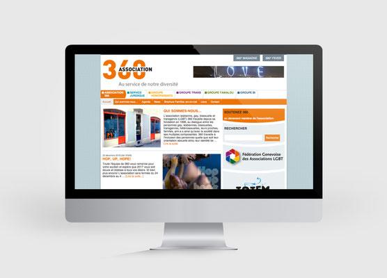 ASSOCIATION 360 | SITE INTERNET | CONCEPTION