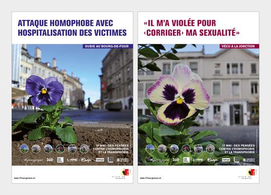 VILLE DE GENÈVE | CAMPAGNE 17 MAI 2017 | AFFICHE F4 | CONCEPTION ET RÉALISATION