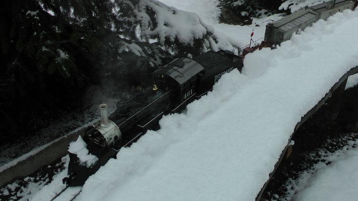 Winterdienst einer K-27 der RGS
