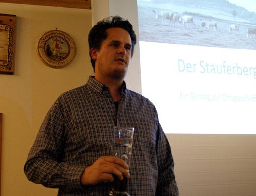 Eröffnung durch unseren 1. Vorstand Marcus Ramsenthaler