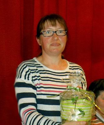 Unsere Christa Weininger vom Vorstand, die Betreuerin der Naturkinder