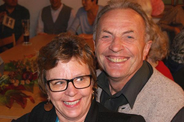 Herbert und Angelika immer gut drauf