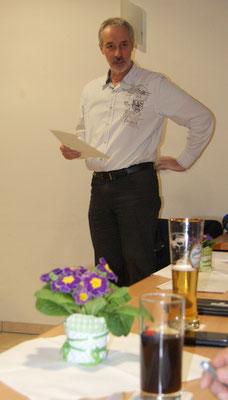 Schriftführer Robert Wolrab berichtet über letzte Vereinsjahr und die Planungen für das Neue Jahr