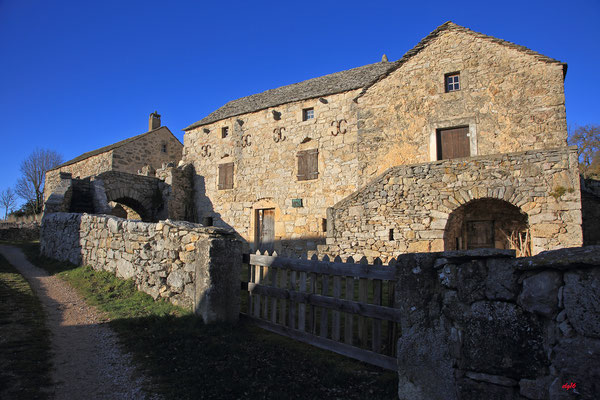 Hyelzas, Causse Méjean