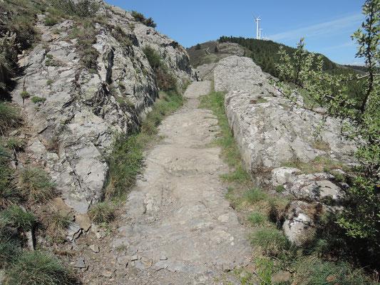 traces de chariots GR 36