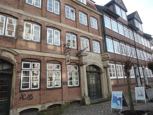 musée de Brahms à Hambourg