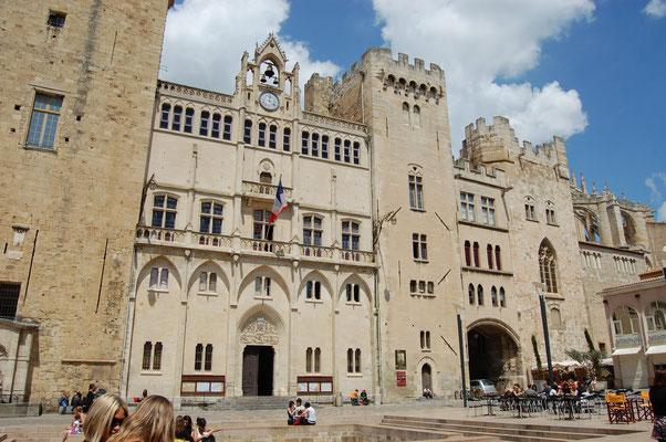 Narbonne, mairie, palais d'évêque