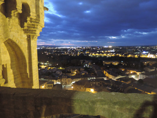 "Vue sur Carcassonne ""by night"""