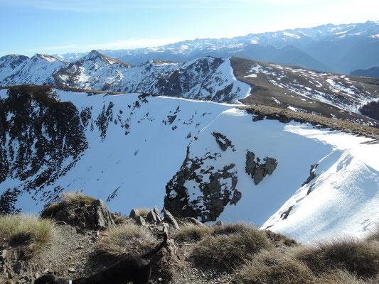 Vue sur la chaîne des Pyrénées