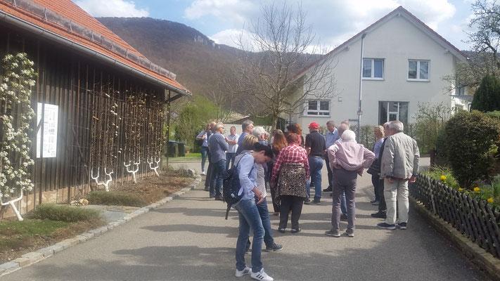 Obstbaumuseum Glems, Vereinsausflug am 14.04.2018