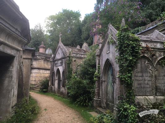 Highgate Cemetery in London, 7. August 2019 / Foto: Gothamella