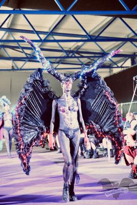 Die Modenshow auf dem M'era Luna-Festival 2019 / Foto: Dunkelklaus