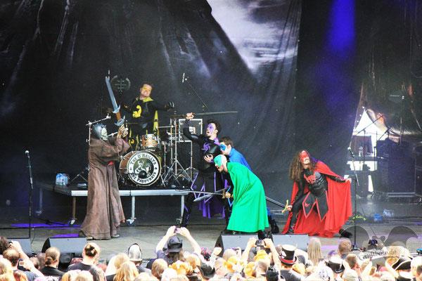 Grailknights, Hexentanz-Festival 2018 / Foto: CorviNox