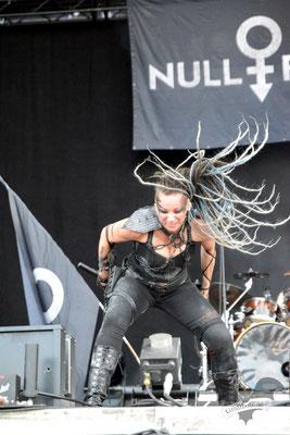 Null Positiv, M'era Luna-Festival 2019 / Foto: Dunkelklaus