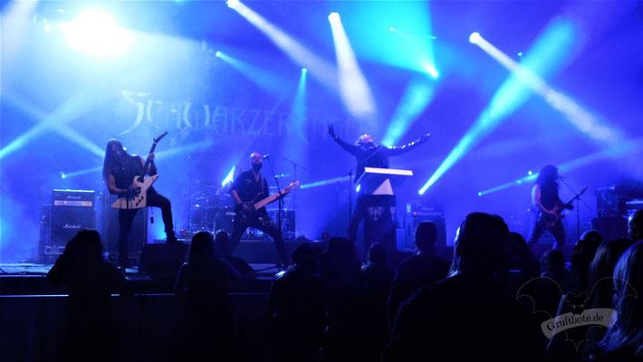 Schwarzer Engel, Black Castle Festival 2018 / Foto: CorviNox