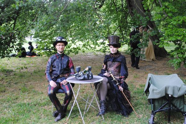 Das Viktorianische Picknick im Clara-Zetkin-Park