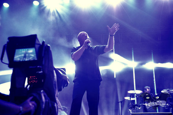 VNV Nation, M'era Luna-Festival 2019 / Foto: Dunkelklaus
