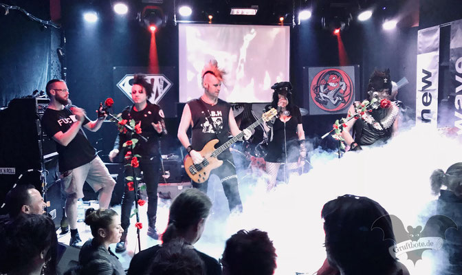 Christian Death und Nox Interna in Hannover, 8. Mai 2018 / Foto: Dunkelklaus
