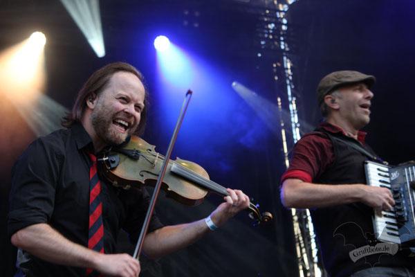 Fiddlers Green, Hexentanz-Festival 2018 / Foto: CorviNox