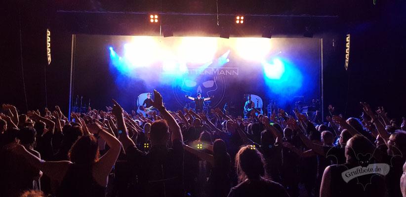 Schattenmann, Black Castle Festival 2018 / Foto: CorviNox