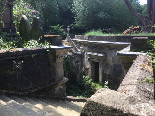Highgate Cemetery in London, 7. August 2019 / Foto: Gothamella