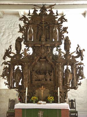der Gudewerdt Altar in der Marienkirche