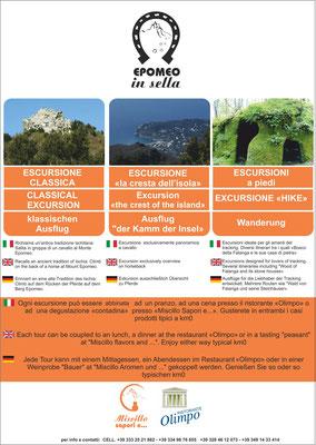 locandina multilingue per escursioni