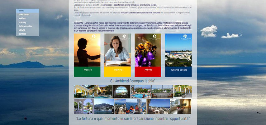 home page campus ischia
