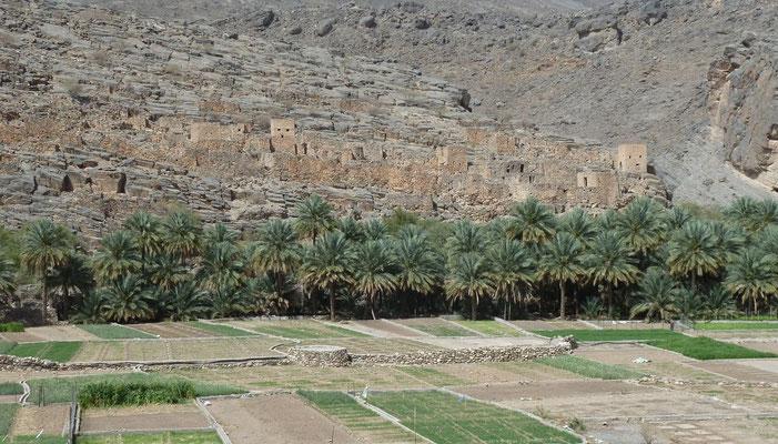 Blick aufs Wadi Ghul