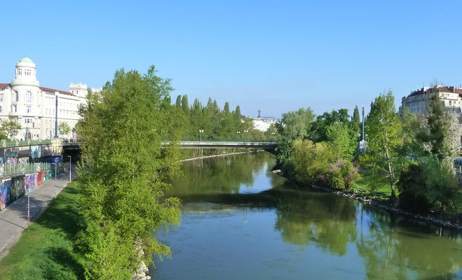 Donaukanal, Sonntagmorgen 8:45!