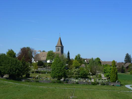 Blick zurück auf Kilchberg