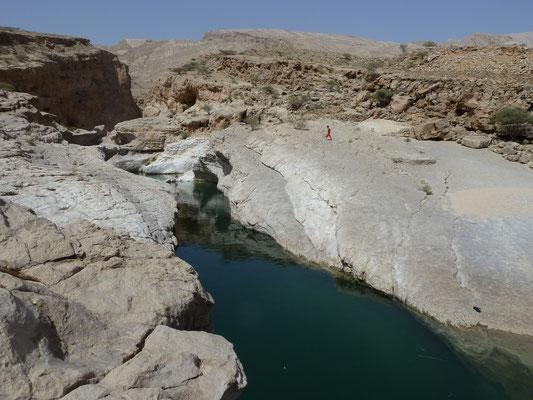 Wadi Ban Khalid - ein Pool