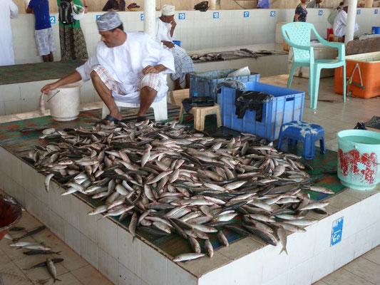 Frischfisch wurde angekarrt