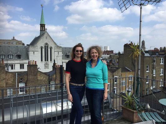 Marine! Auf der Dachterrasse in Marylebone